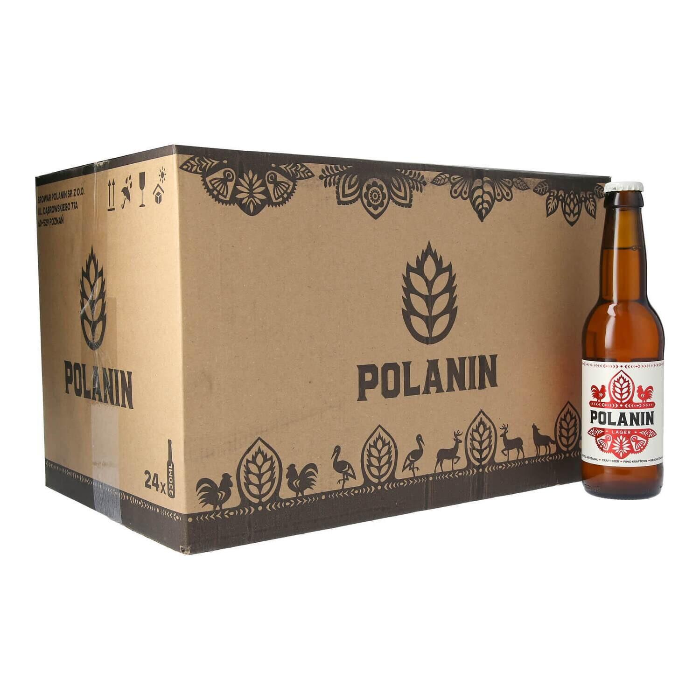 Polanin Lager Case - 24 bottles x 330ml