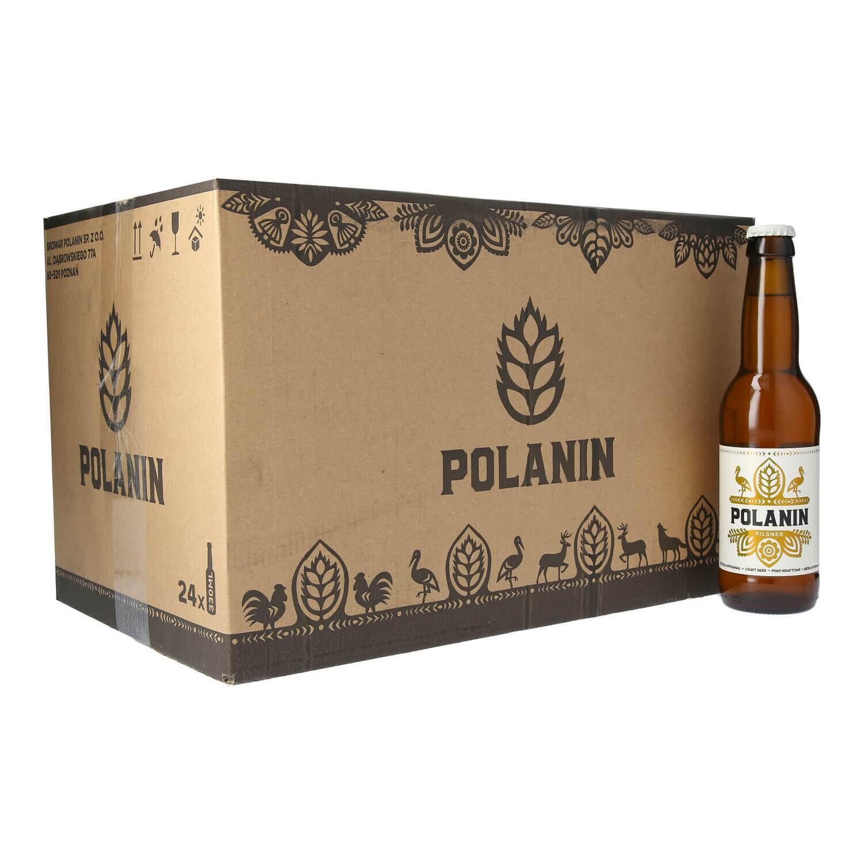 Polanin Pilsner Case - 24 bottles x 330ml