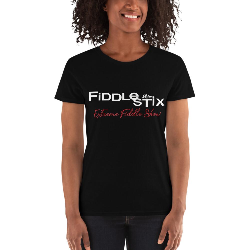 Retro Fiddlestix Women's 2 - Sided short sleeve t-shirt