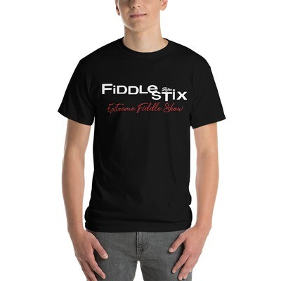 Retro Fiddlestix Men's 2 - Sided Print Classic T-Shirt | Gildan 2000