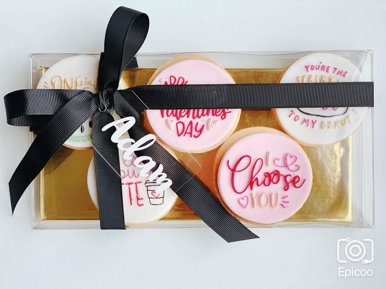Valentine's Day Cookie Packs