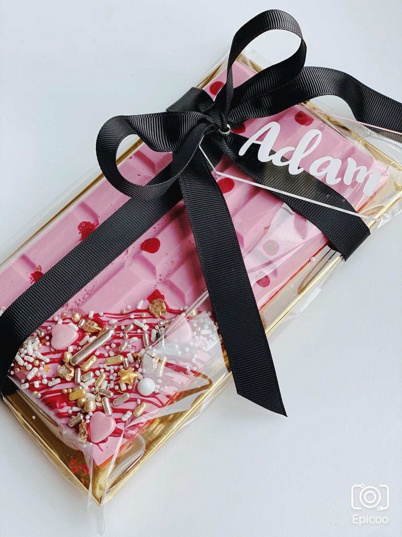Popping Candy Chocolate Blocks