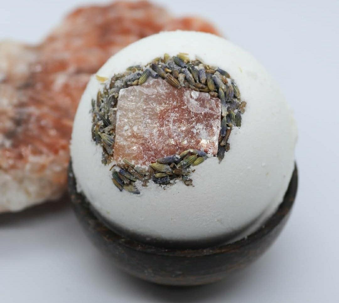 Lotus Lava Crystal Bath Bombs