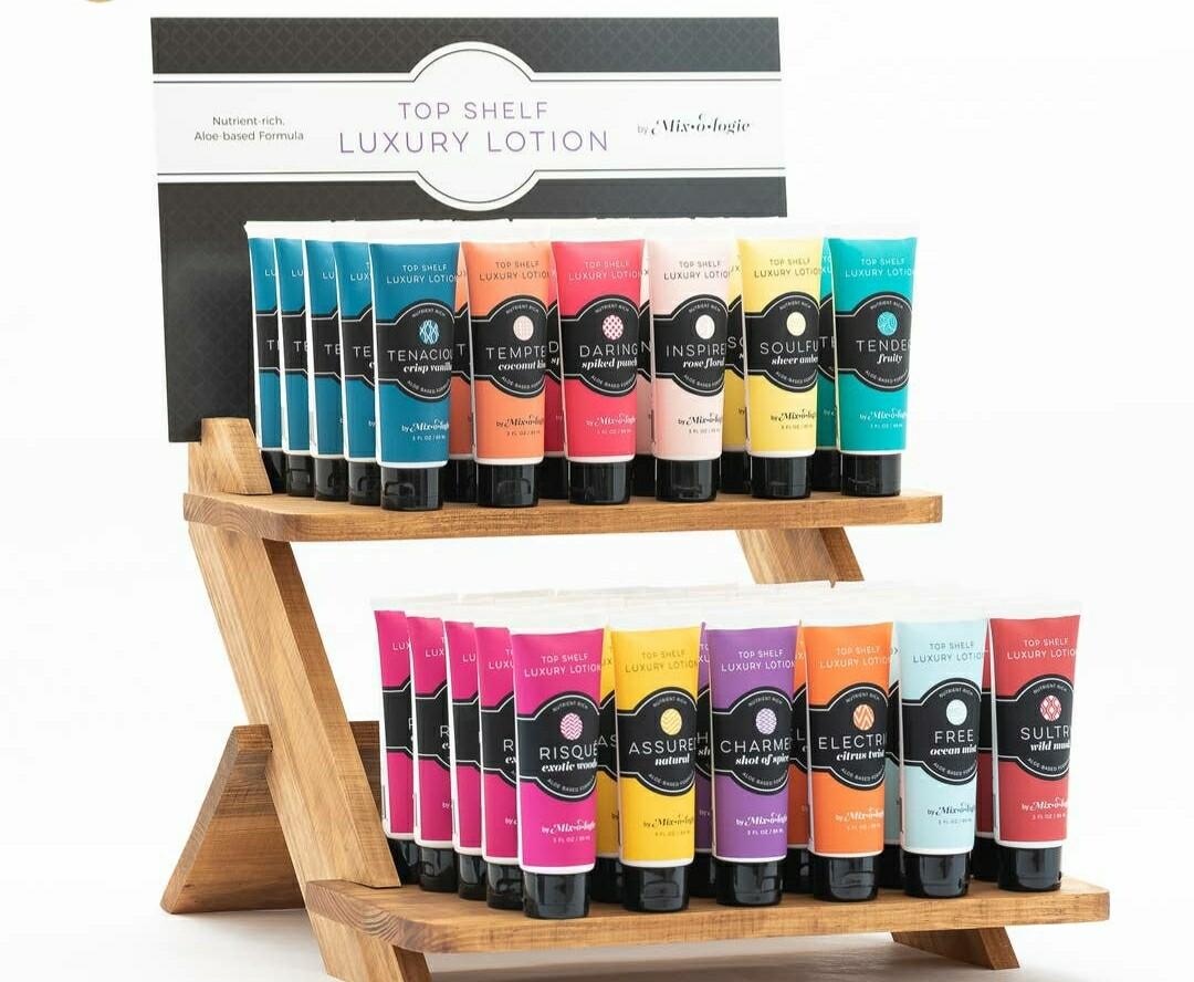 Top Shelf Luxury Lotions