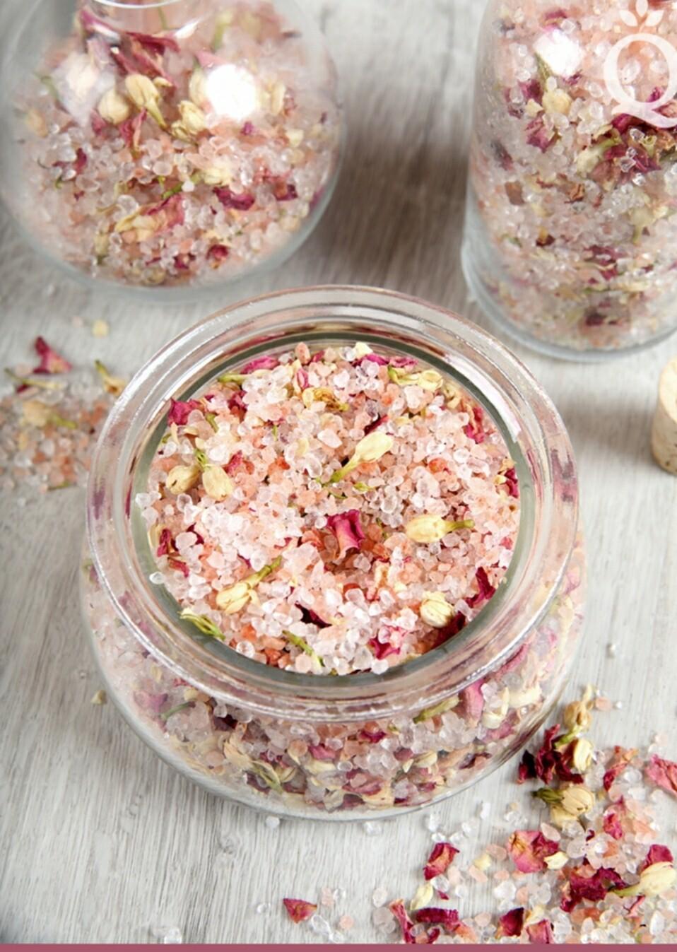 Botanical Sea Salt / Romantic Rose
