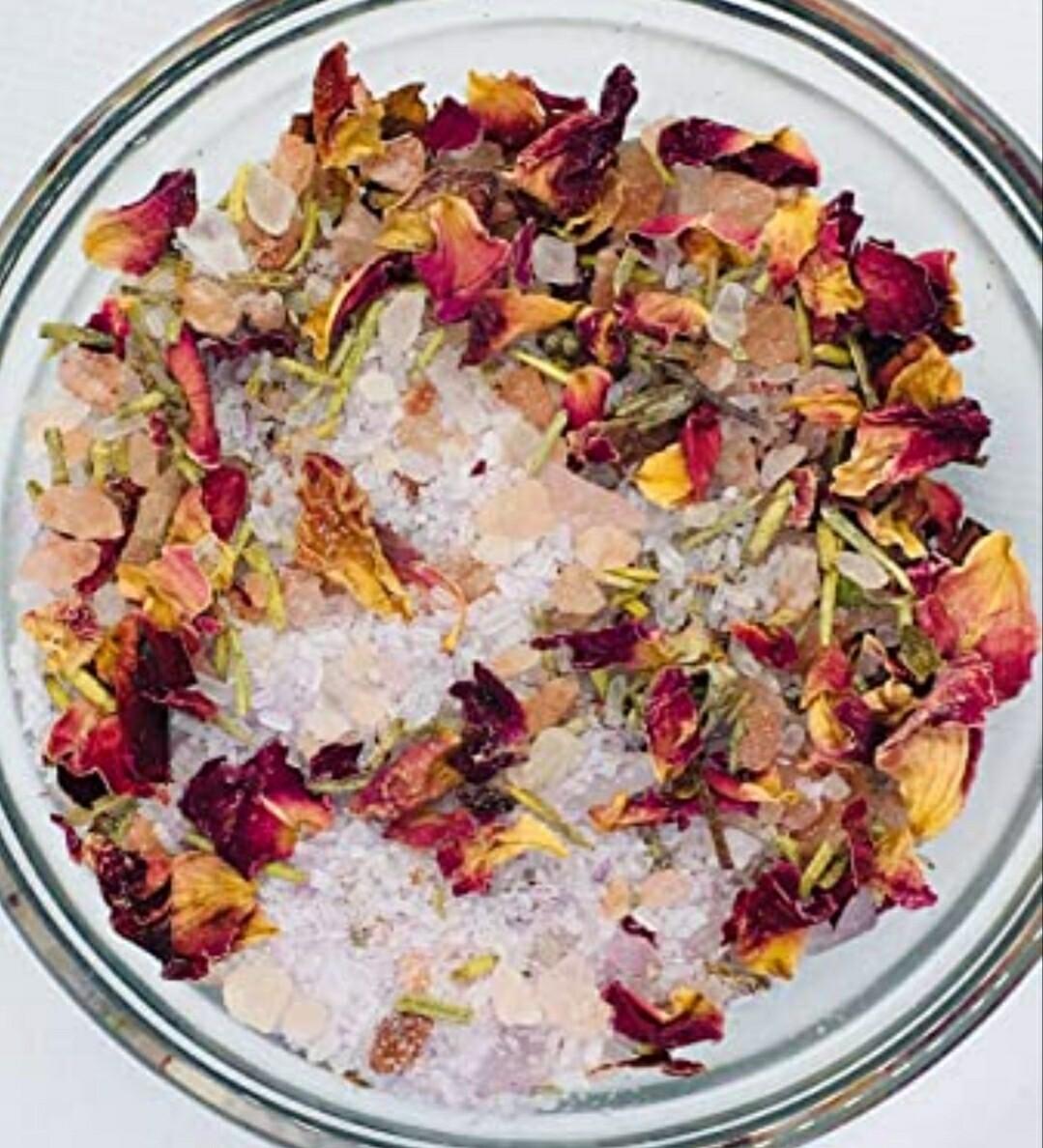 Botanical Sea Salt / Hibiscus Plumeria