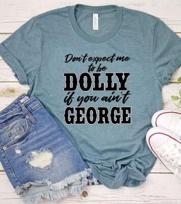 Slate Dolly & George Shirt