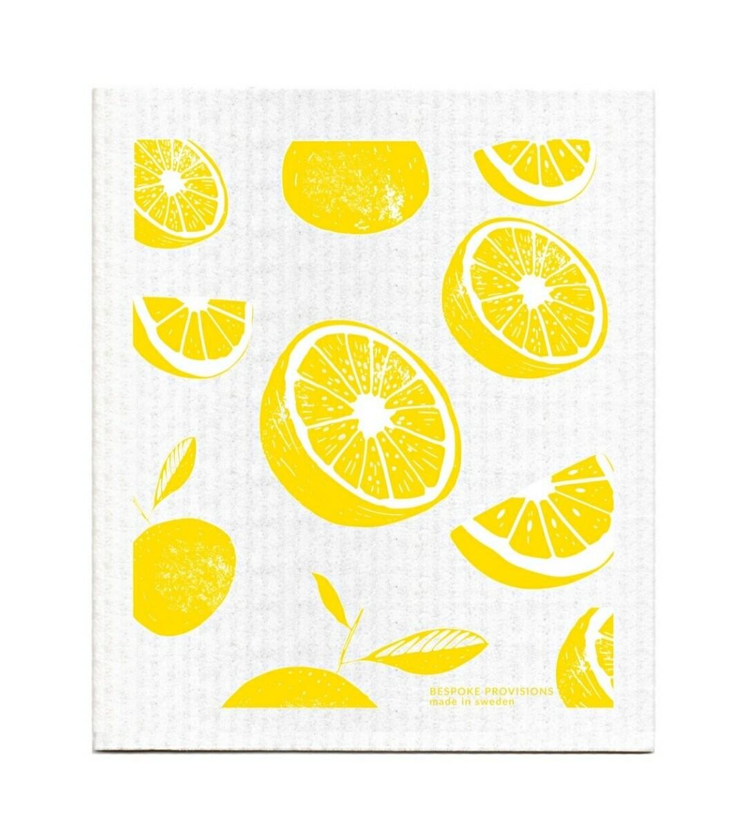Lemons Swedish Dish Cloths