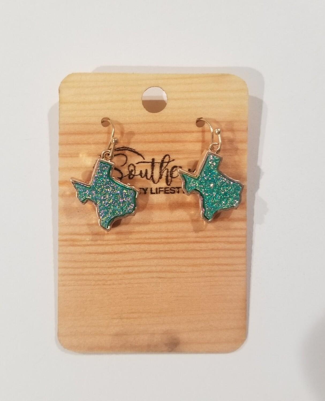 Blue Texas Earrings