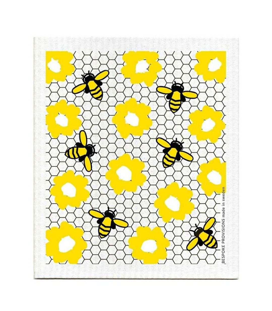 Bees Swedish Dish Cloth