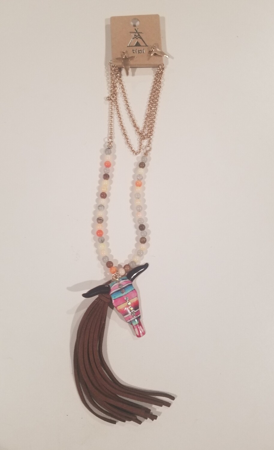 Cattle Necklace & Earring Set