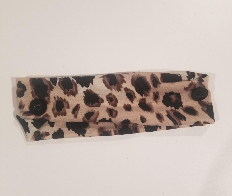 Cheetah Head Band