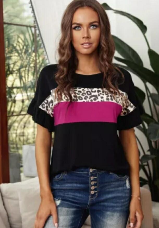 Black Leopard Shirt