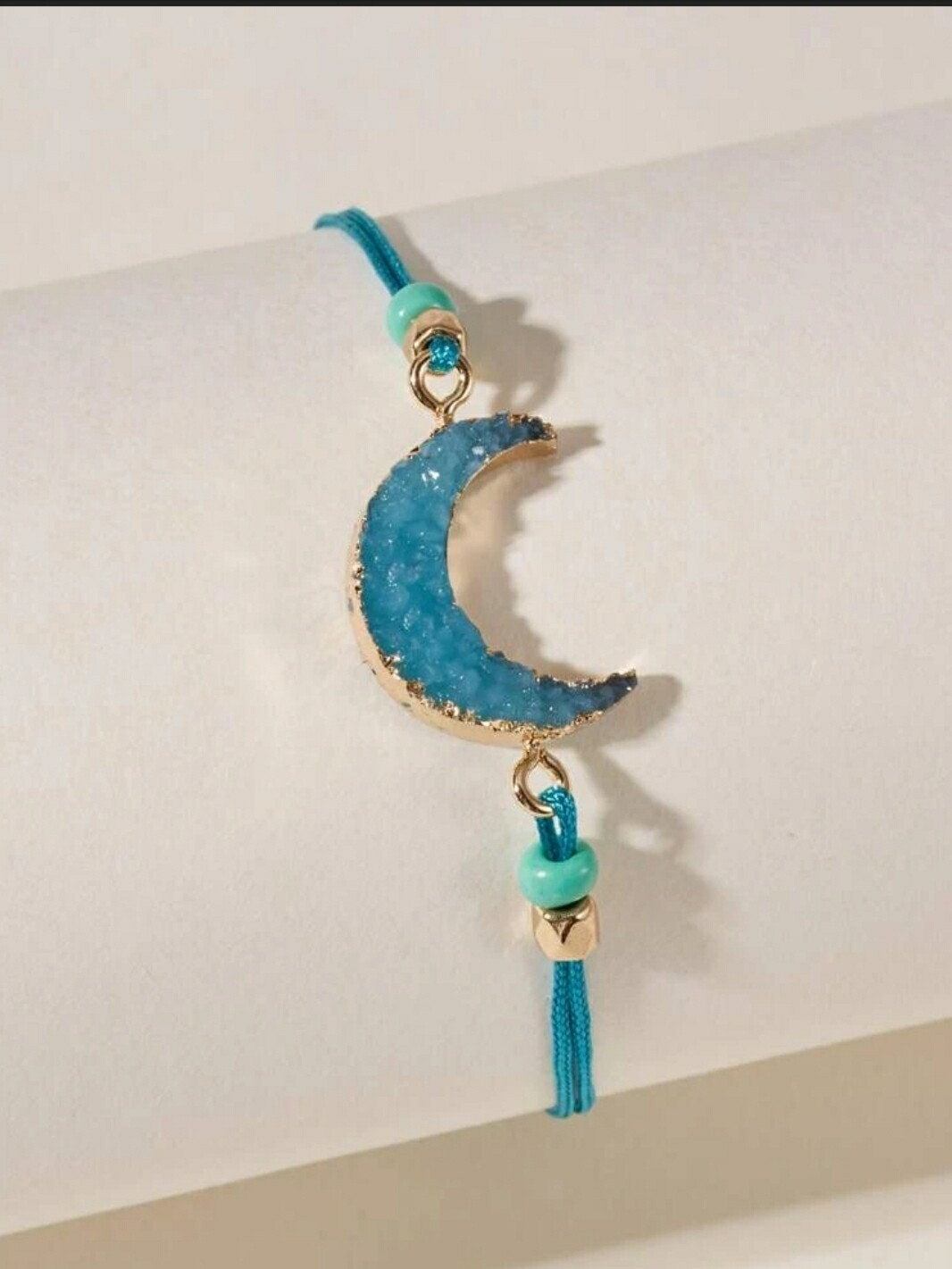 Teal Moon Bracelet