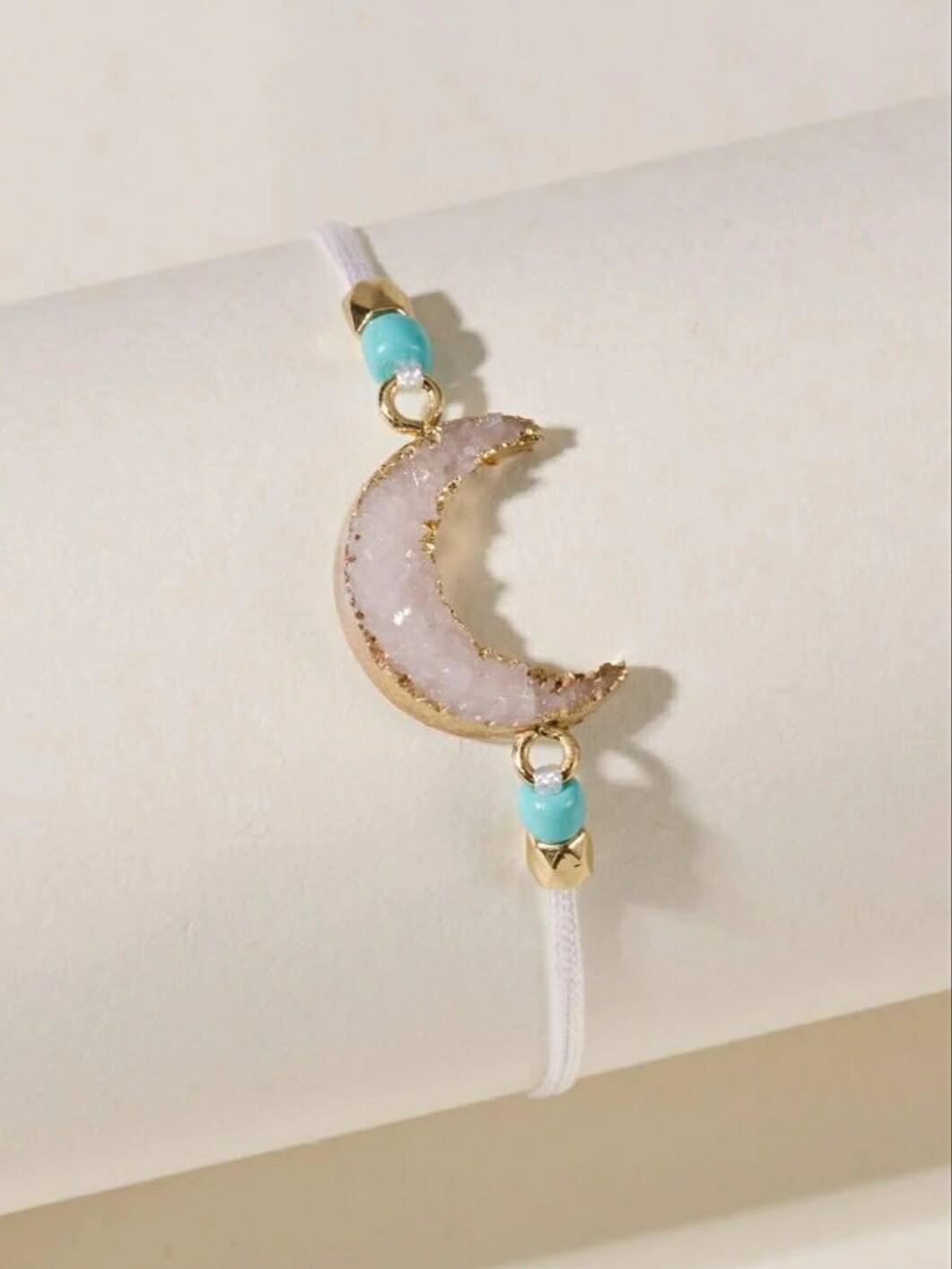 White Moon Bracelet