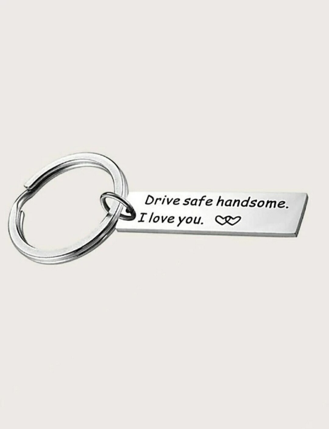 Slogan Keychain