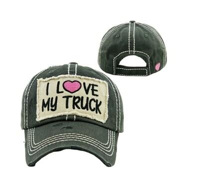 Gray I Love My Truck
