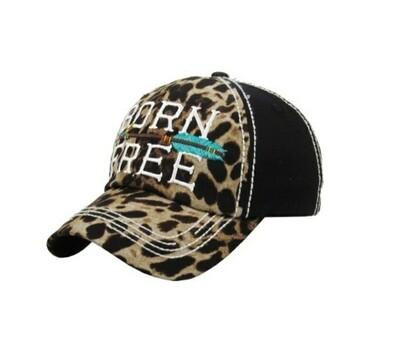 Leopard Born Free Cap