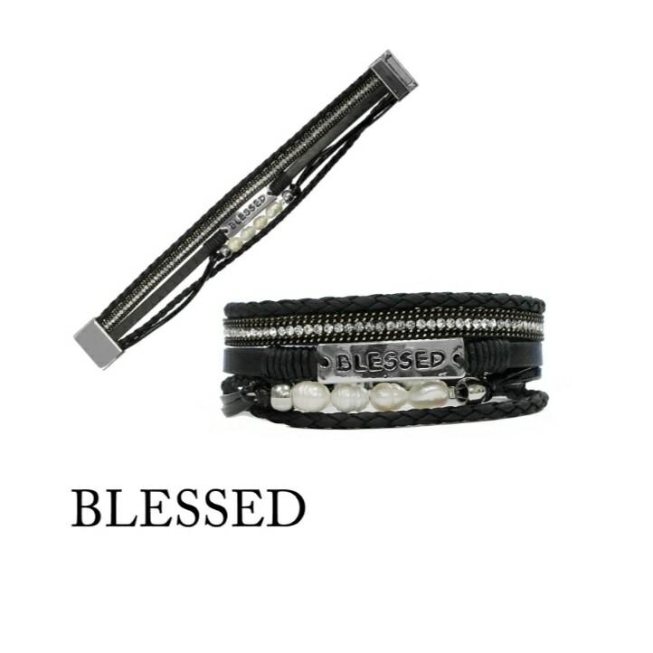 Black Blessed Bracelet