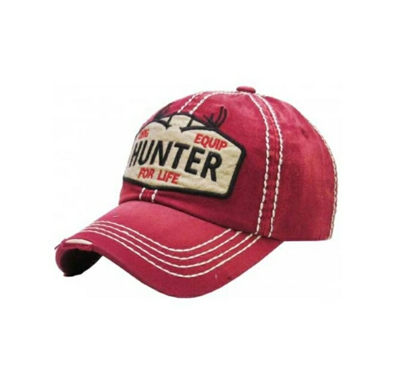 Red Hunter For Life Cap