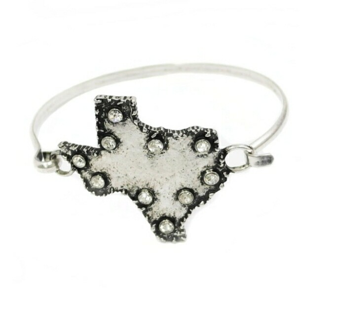 Rustic Texas Silver Bracelet