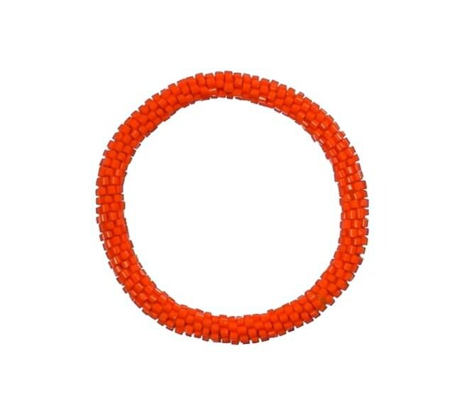 Orange Nepal Bracelet