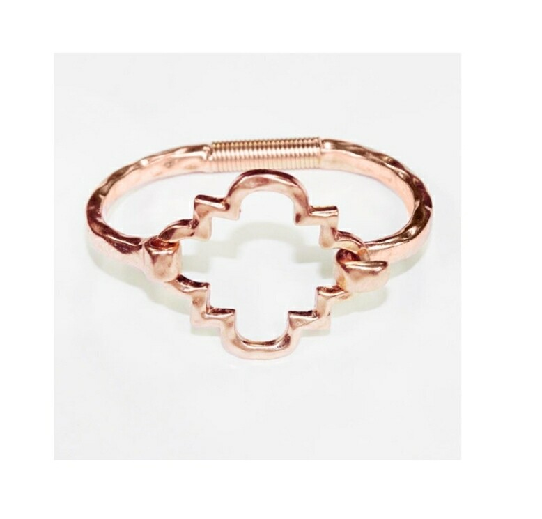 Gold Aztec Bracelet