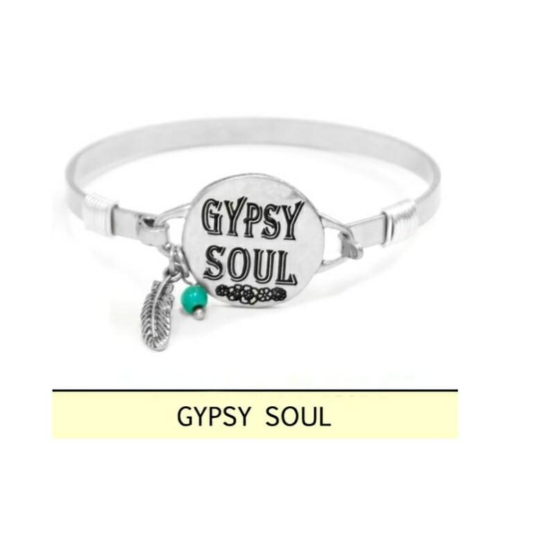 Gypsy Soul Silver Bracelet