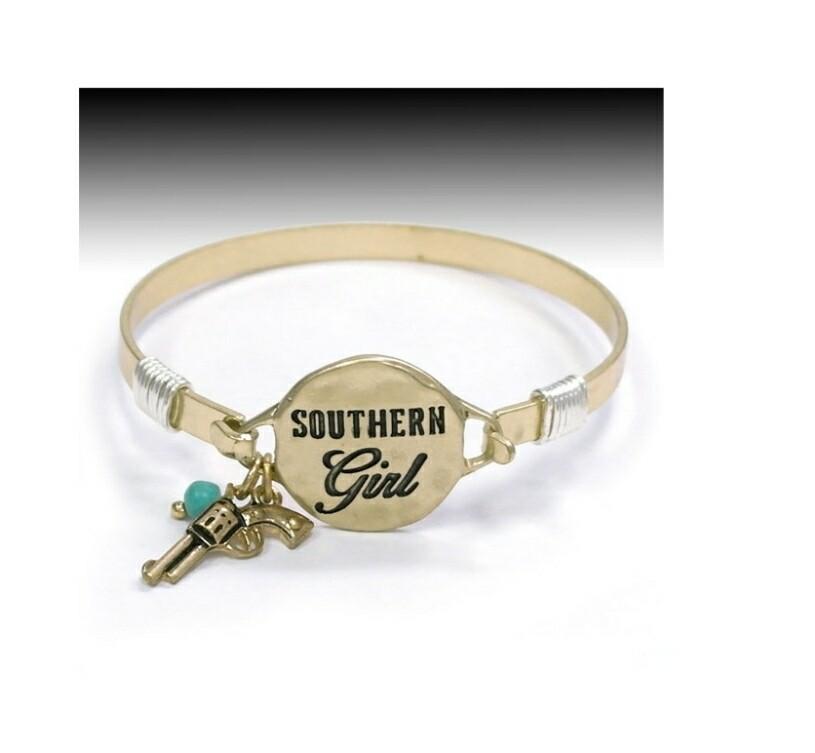 Southern Girl Gold Bracelet