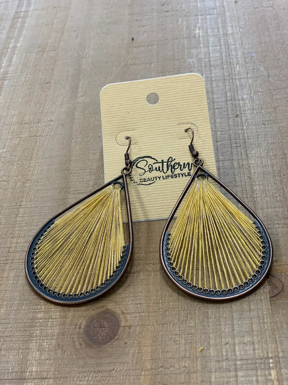 Yellow BOHO Earrings