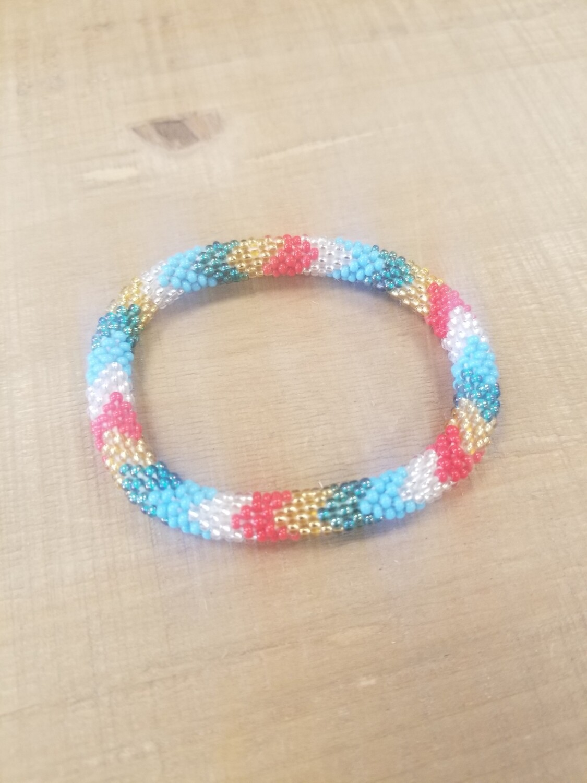 Multi Color Nepal Bracelet