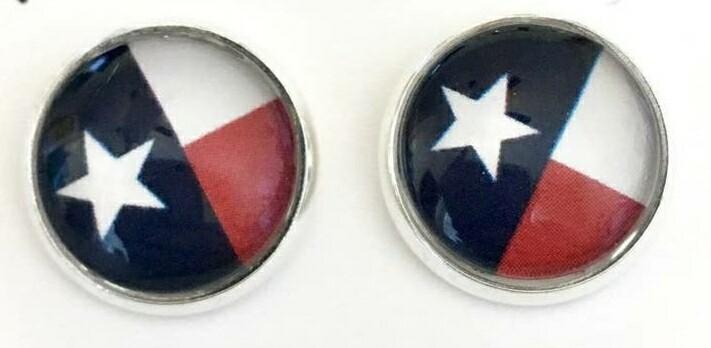 Silver & Texas Earrings