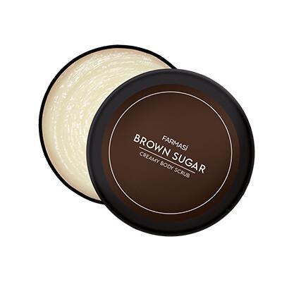 Brown Sugar Creamy Body Scrub 8.5oz