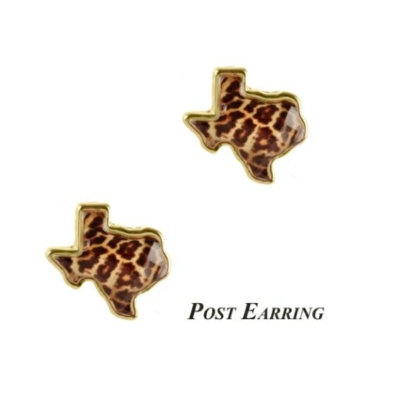 Texas Leopard Earrings