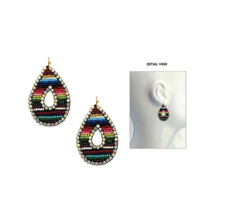 Serape Loop Earrings