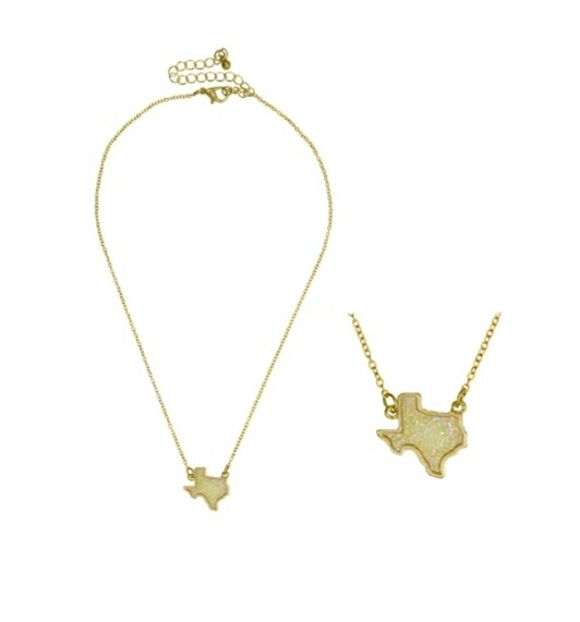 Gold & Yellow Texas Necklace
