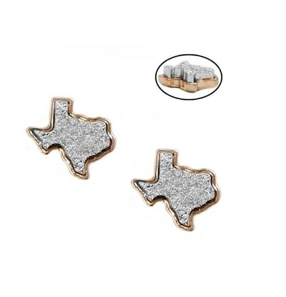 Platinum Texas Earrings