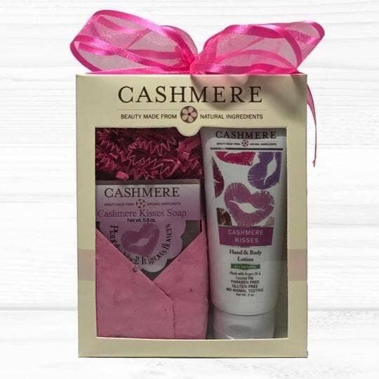 Cashmere Kisses Soap & Lotion Gift Set