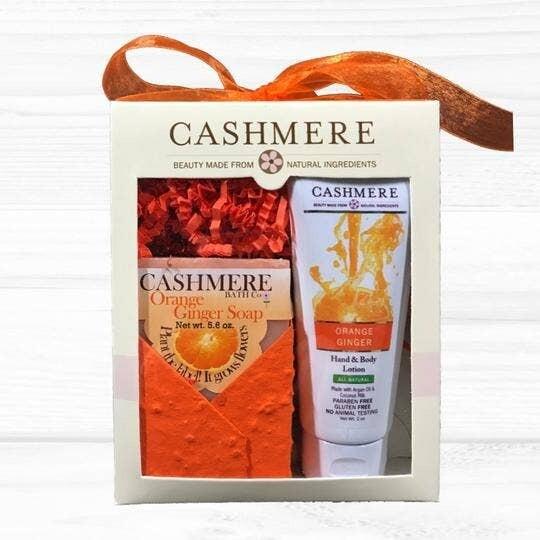 Cashmere Orange Ginger Soap & Lotion Gift Set