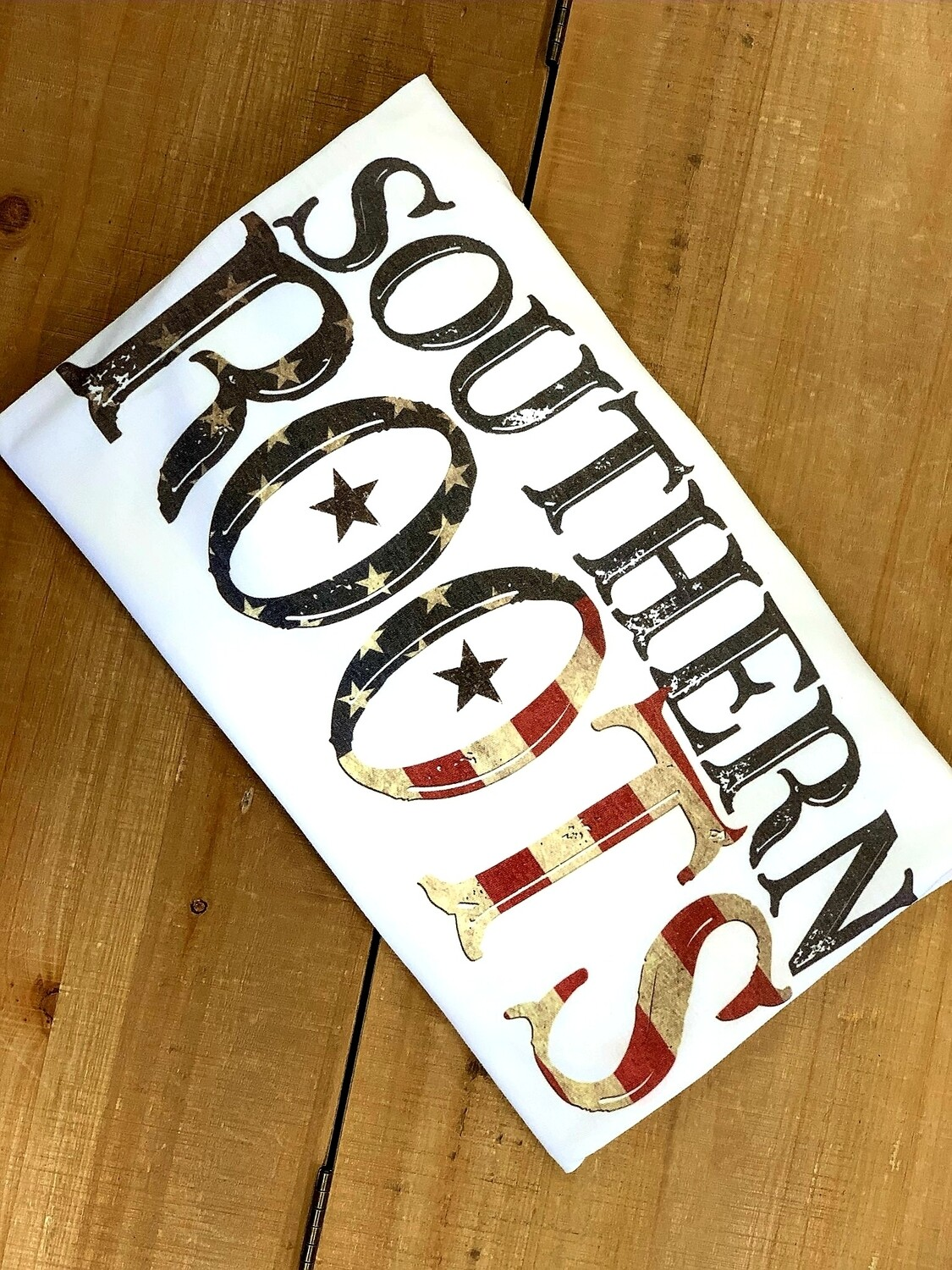 White & Flag Southern Roots Shirt Size L