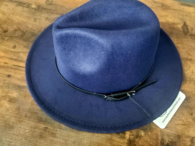 Blue Belt Hat