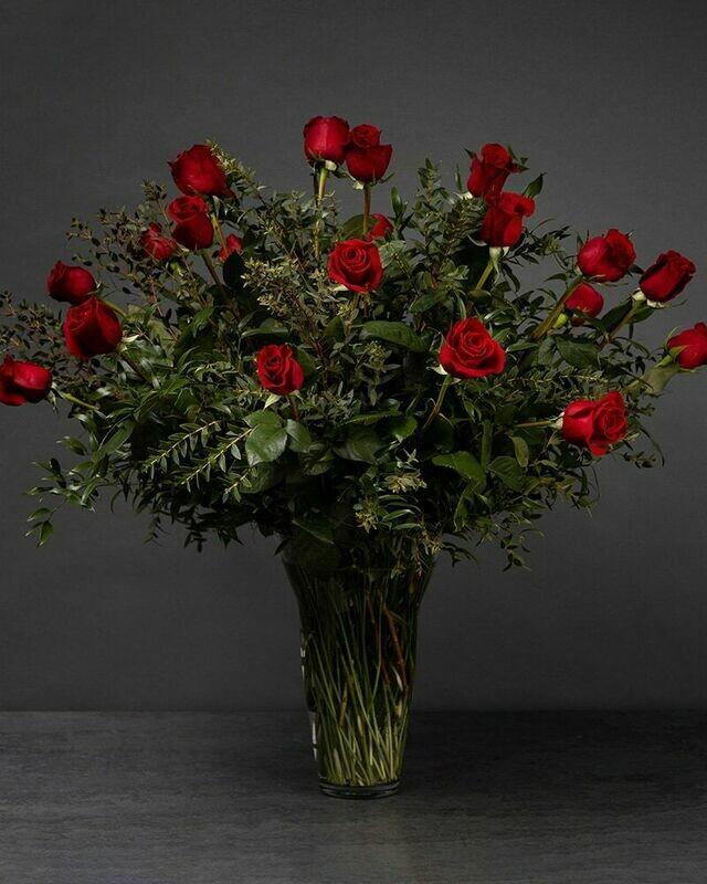 Two Dozen Long-Stemmed Roses