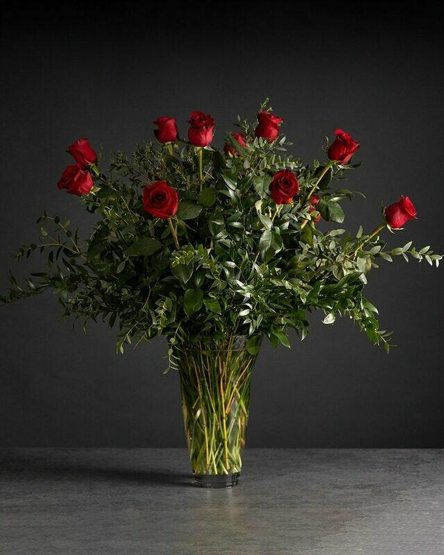 One Dozen Long-Stemmed Roses