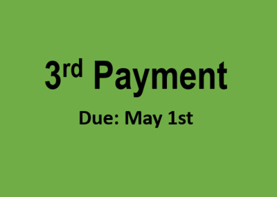 Hi Stakes 3rd Payment
