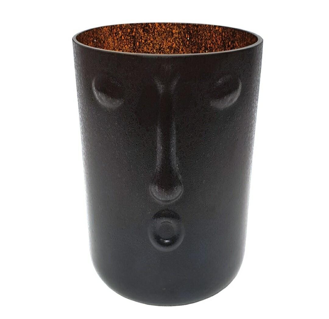 Head Vase Black