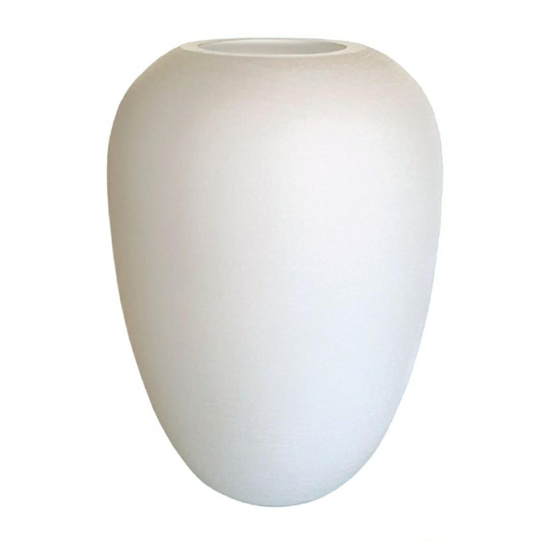 Sally White Vase