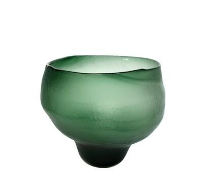 Emerald Round Vase
