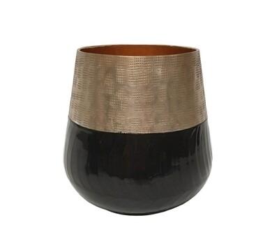 Tapered  Vase Black