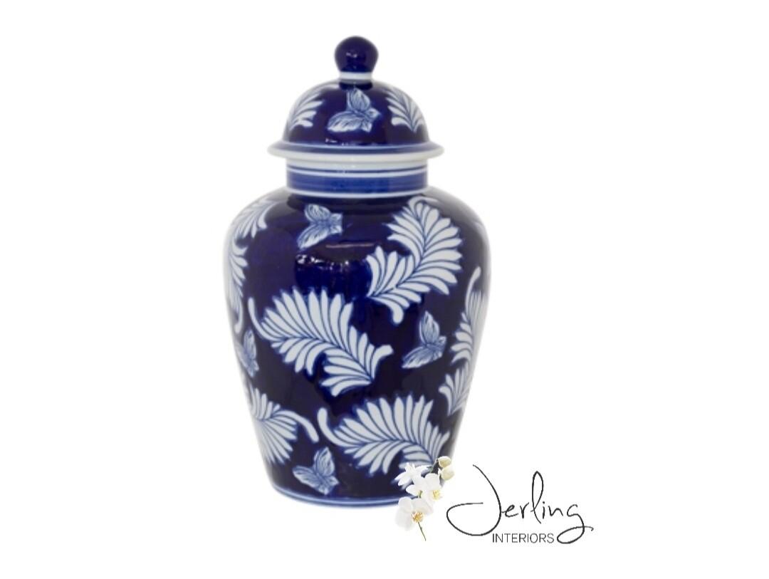 Large Lindoso Jar with Lid