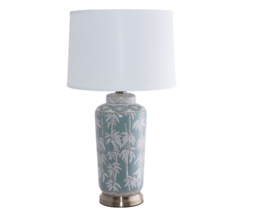 Clement Jar Lamp with Shade